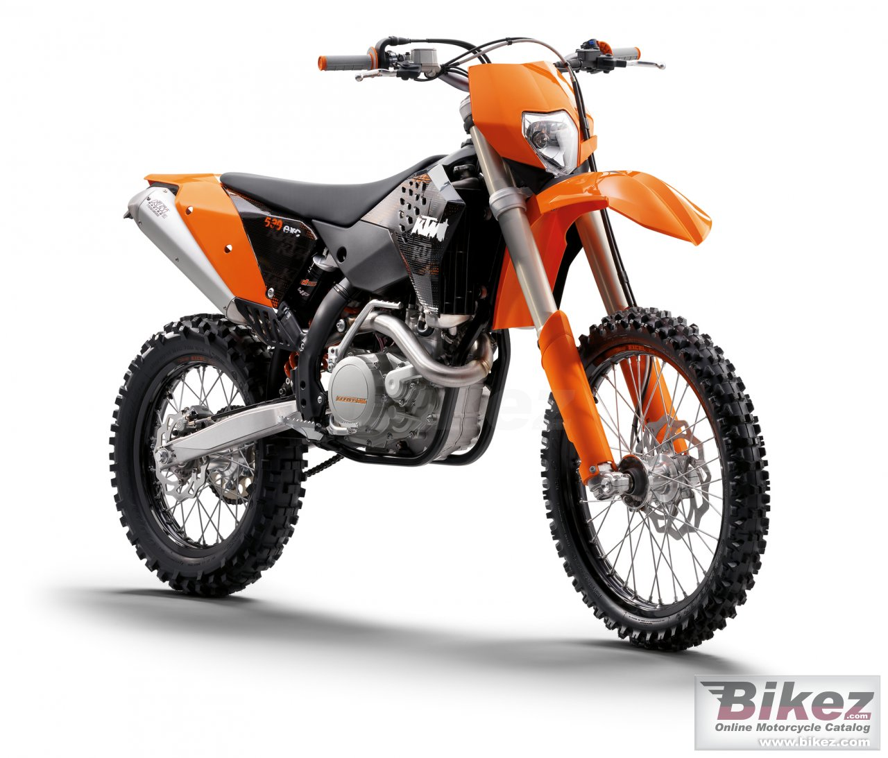 Big KTM 530 exc picture and wallpaper from Bikez.com