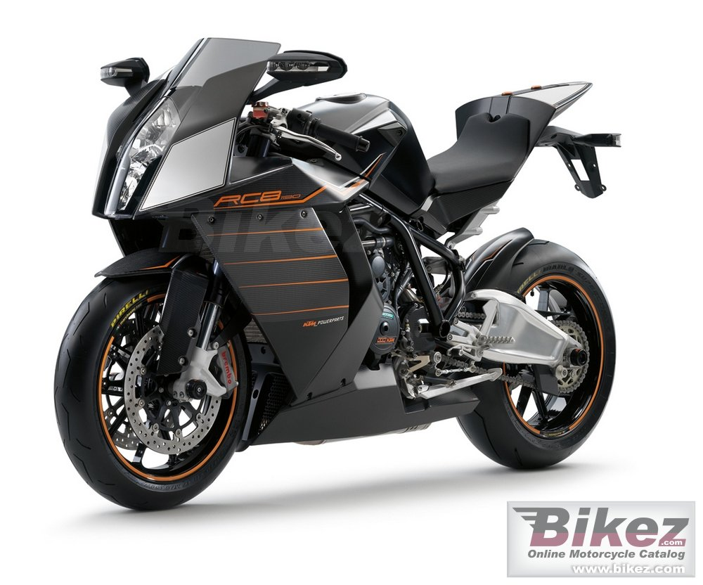 Big KTM 1190 rc8 carbon picture and wallpaper from Bikez.com