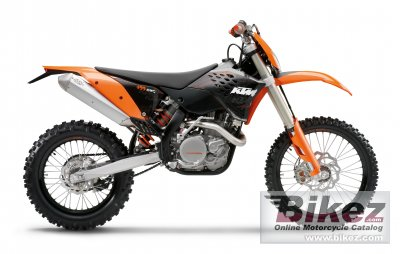 2009 ktm 400 exc specifications and pictures