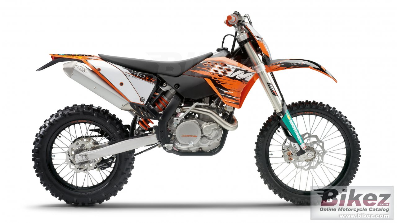 Big KTM 450 exc picture and wallpaper from Bikez.com
