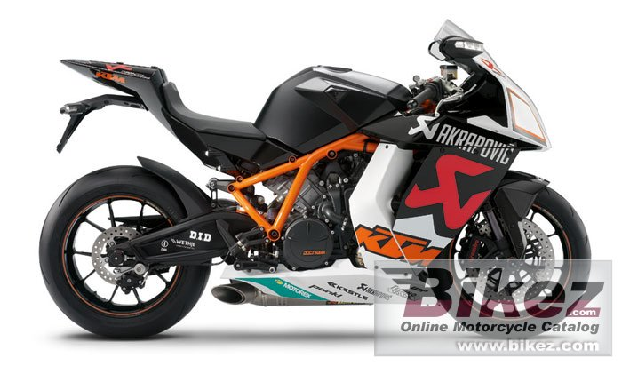 KTM 1190 rc8 r akrapovic limited edition