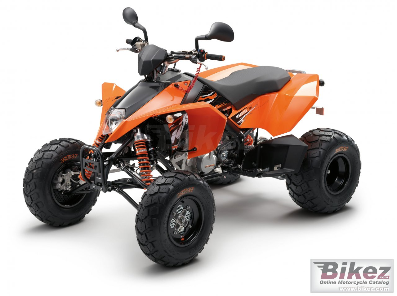 Big KTM 525 xc atv picture and wallpaper from Bikez.com