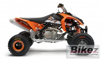 2010 KTM 505 SX ATV photo