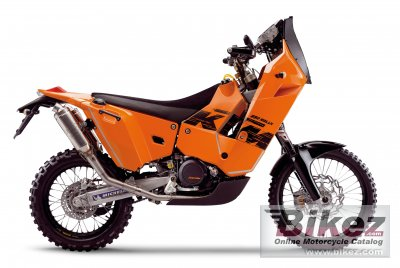 2010 KTM 690 Rally Replica photo