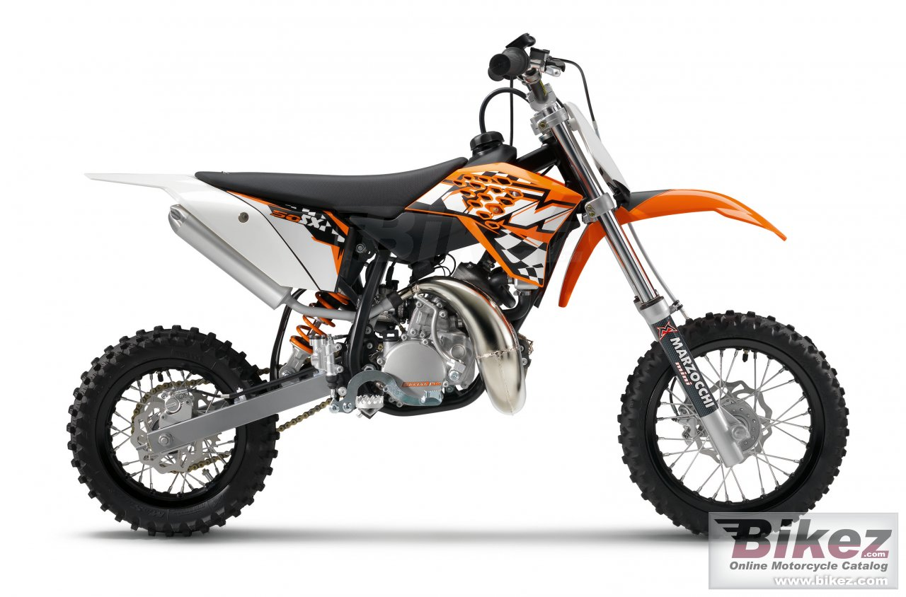 Big KTM 50 sx picture and wallpaper from Bikez.com