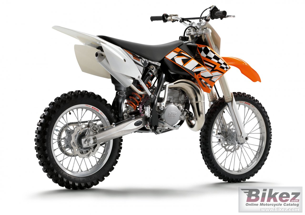 Big KTM 85 sx 17-14 picture and wallpaper from Bikez.com