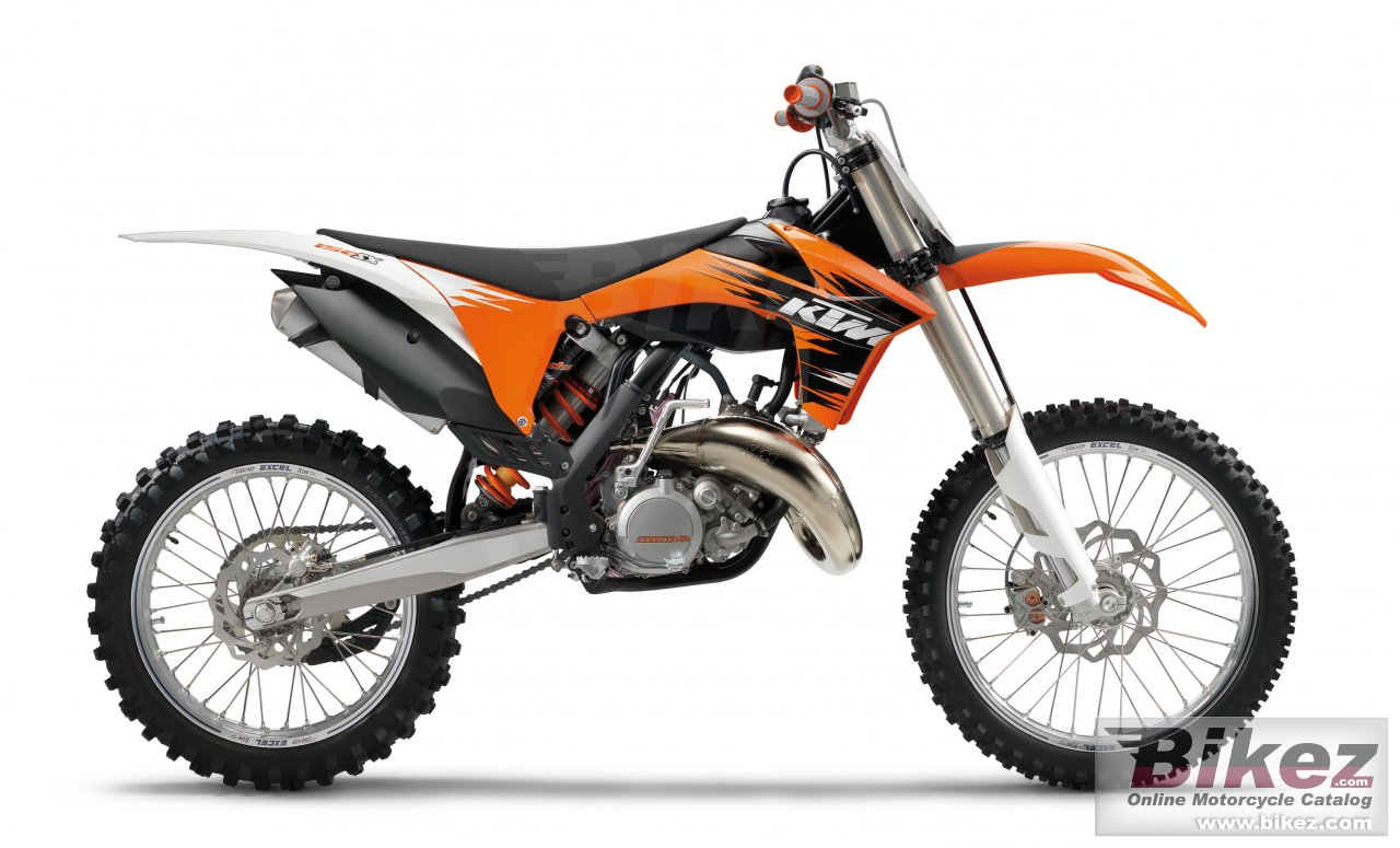 Big KTM 150 sx picture and wallpaper from Bikez.com