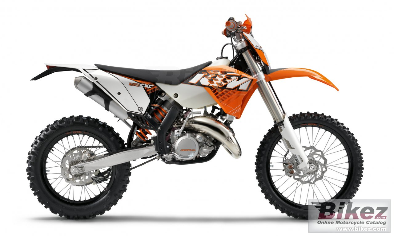 Big KTM 125 exc picture and wallpaper from Bikez.com
