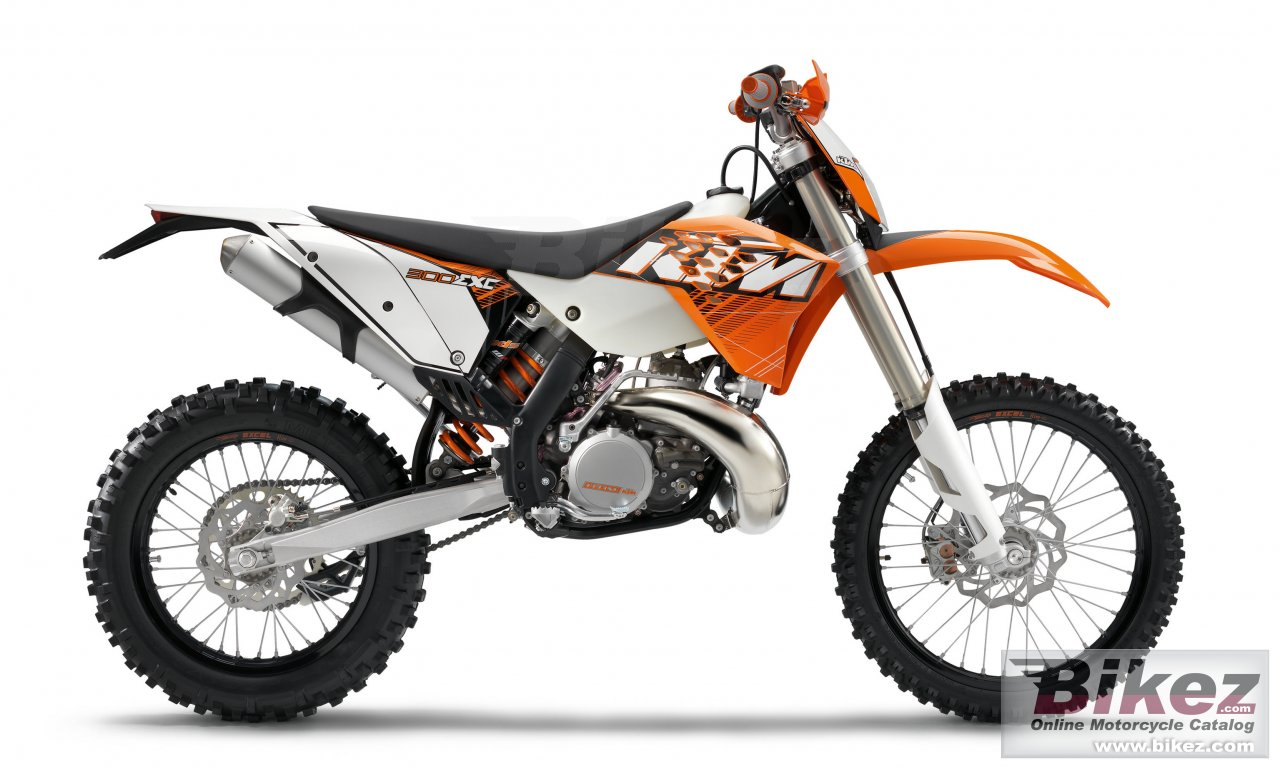 Big KTM 300 exc picture and wallpaper from Bikez.com
