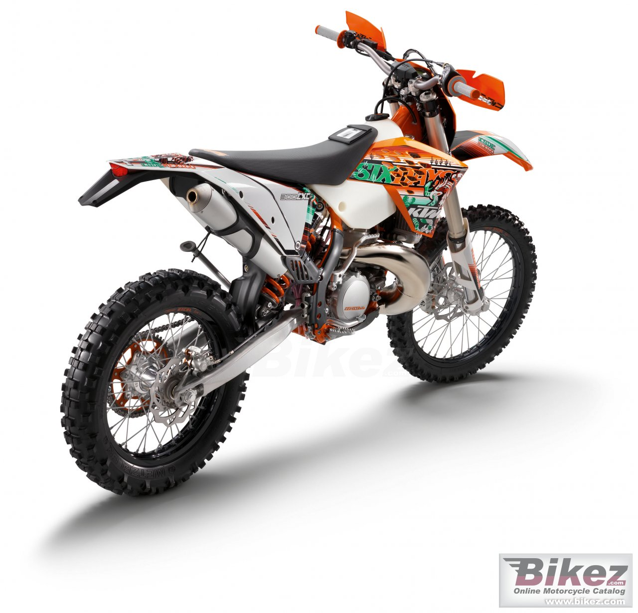 Big KTM 300 exc sixdays picture and wallpaper from Bikez.com