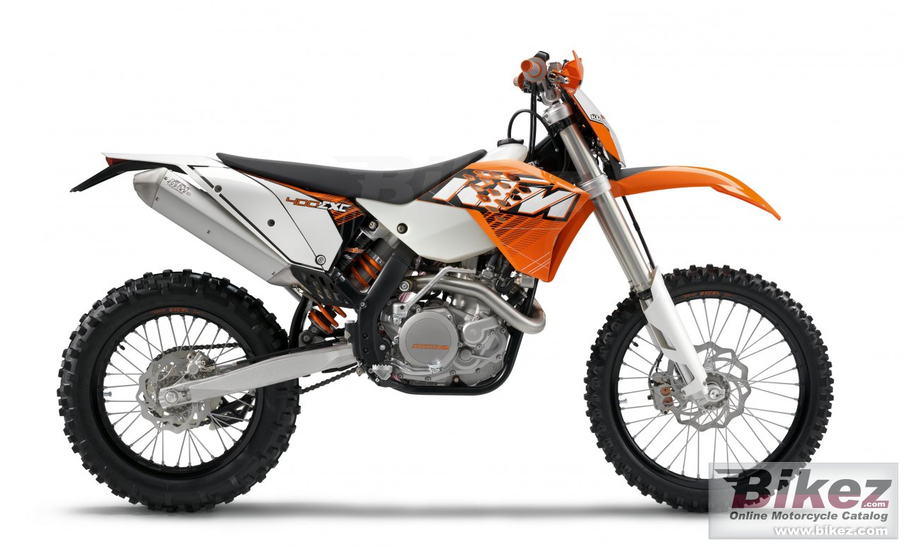 Big KTM 400 exc picture and wallpaper from Bikez.com