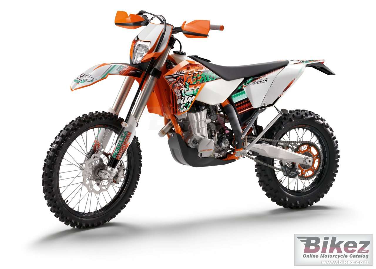 Big KTM 450 exc sixdays picture and wallpaper from Bikez.com