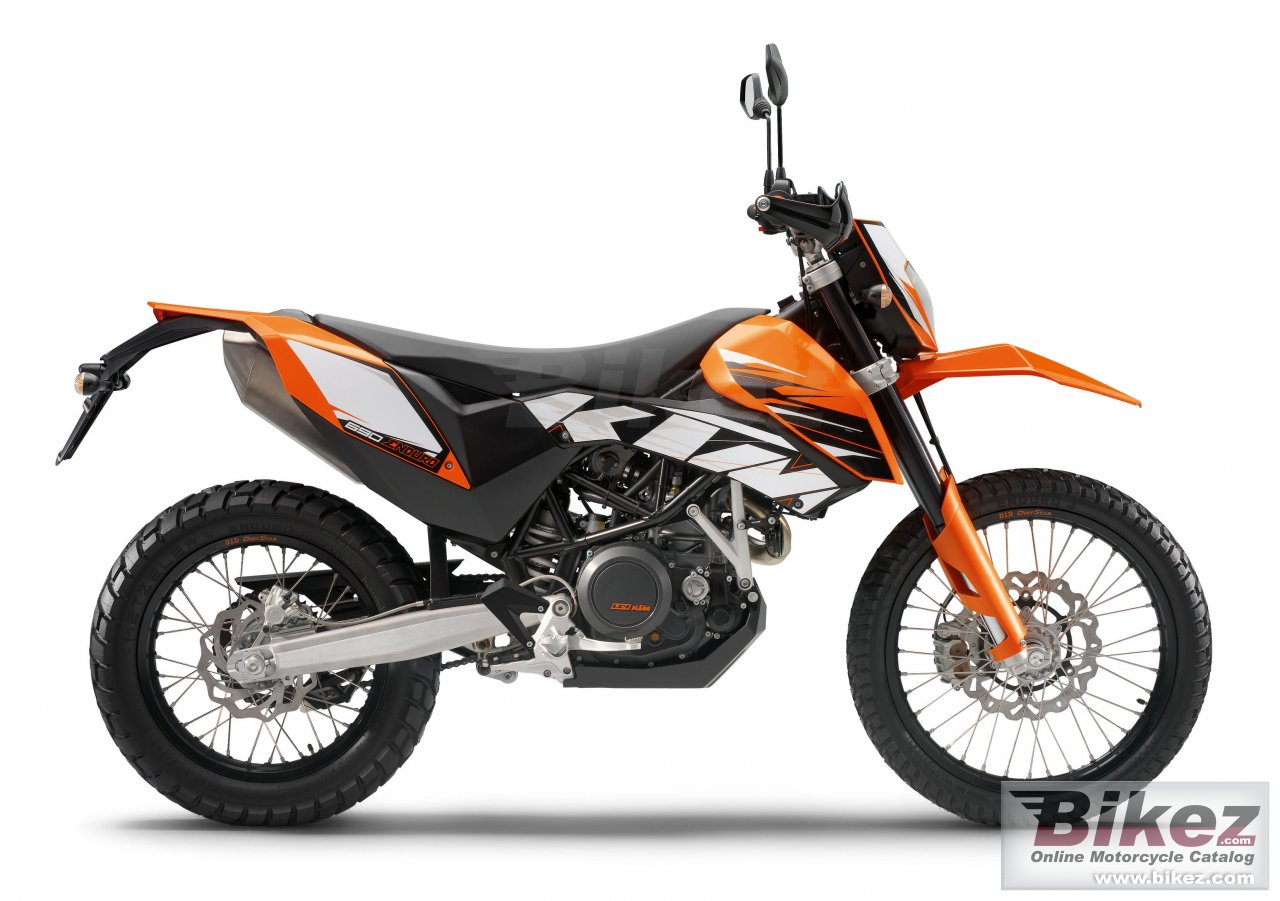 Big KTM 690 enduro picture and wallpaper from Bikez.com