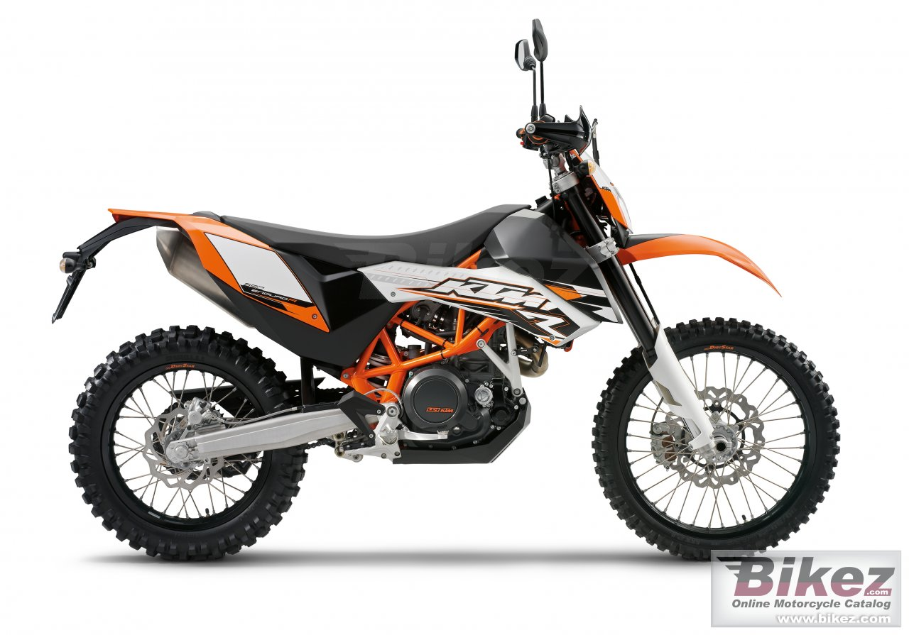 Big KTM 690 enduro r picture and wallpaper from Bikez.com