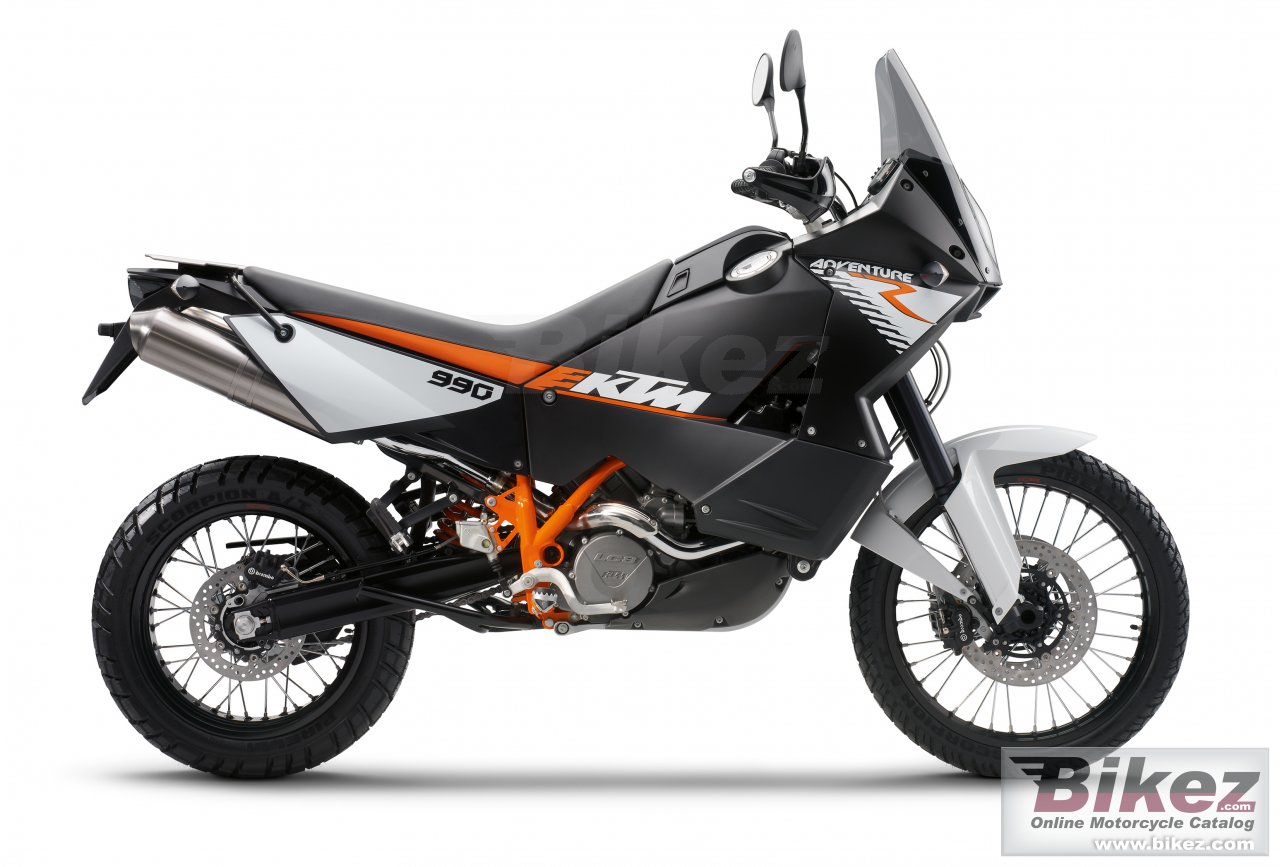 Big KTM 990 adventure r picture and wallpaper from Bikez.com