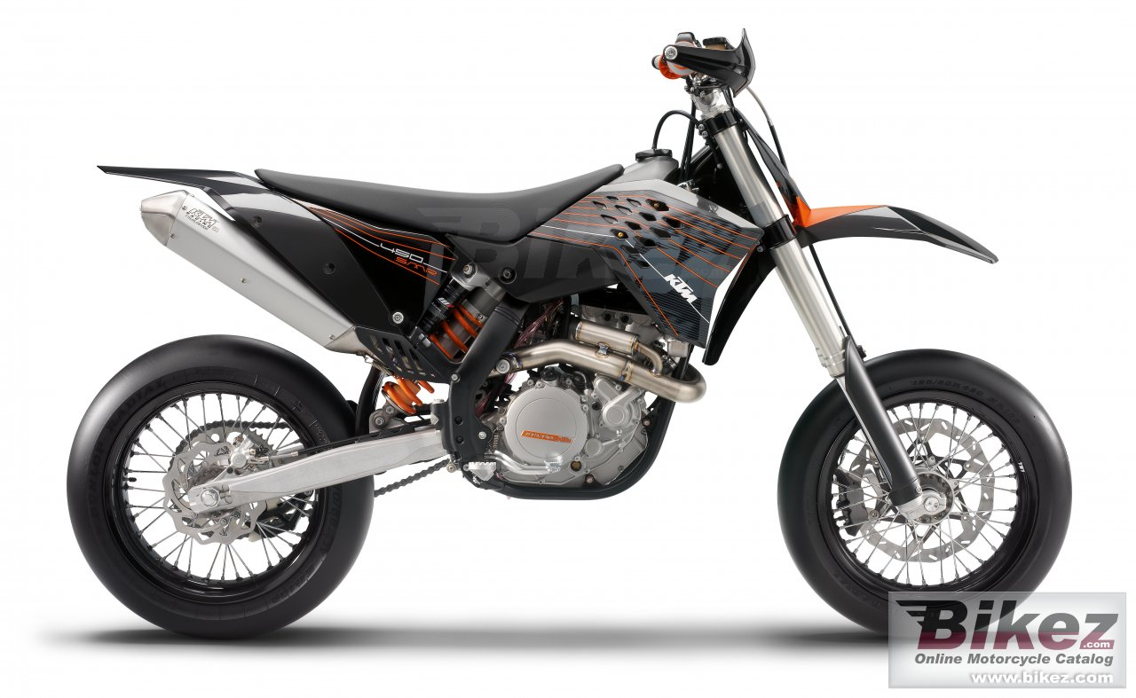 Big KTM 450 smr picture and wallpaper from Bikez.com