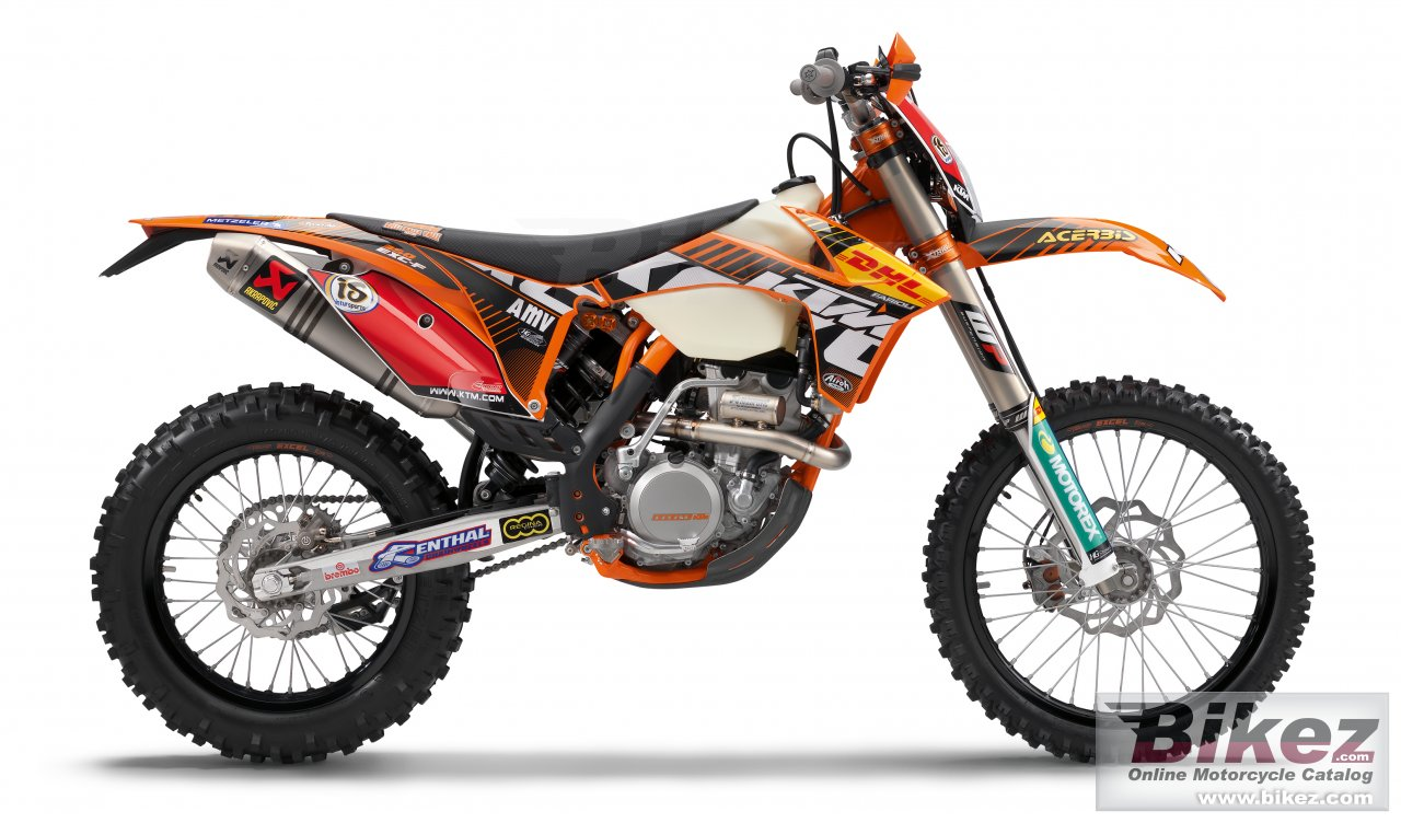 Big KTM 350 f exc factory picture and wallpaper from Bikez.com