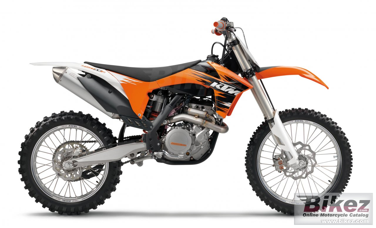 Big KTM 450 sx-f picture and wallpaper from Bikez.com