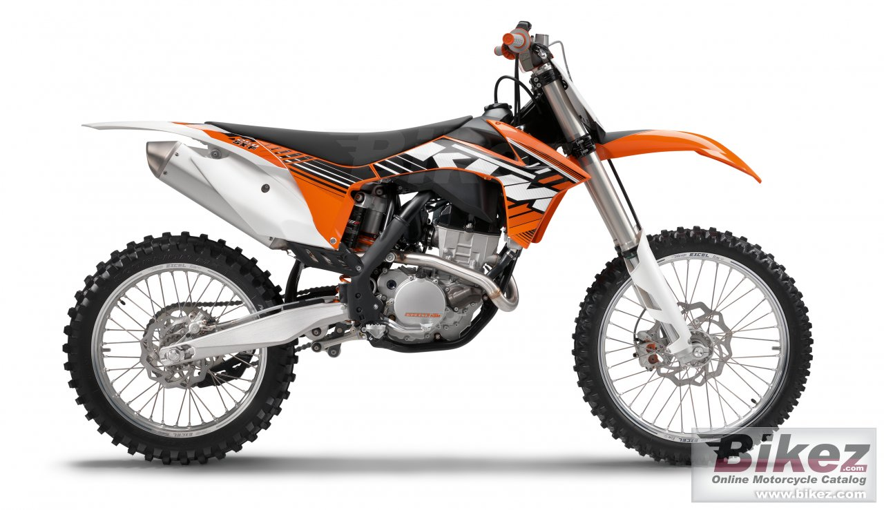 Big KTM 250 sx-f picture and wallpaper from Bikez.com