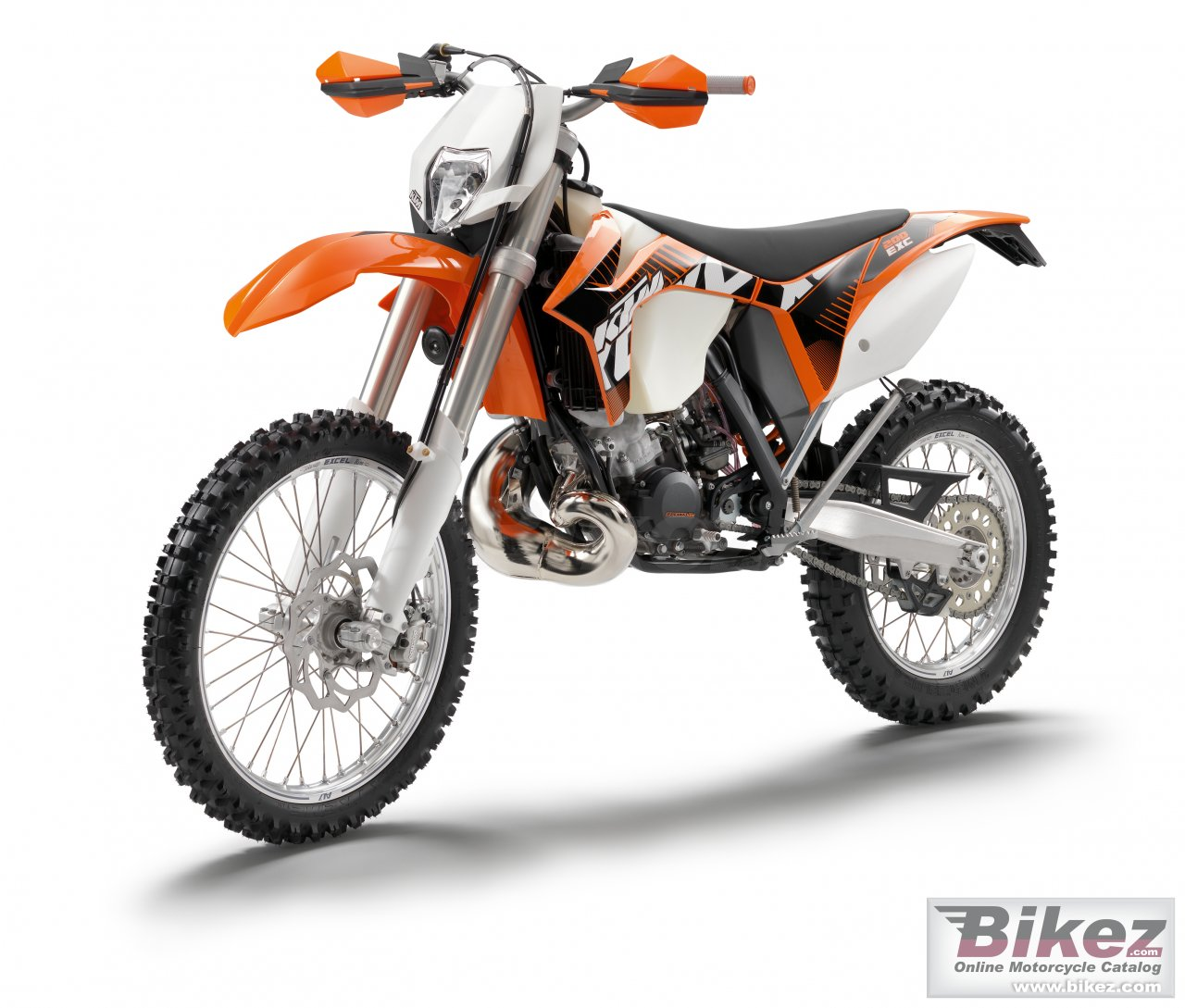 Big KTM 200 exc picture and wallpaper from Bikez.com