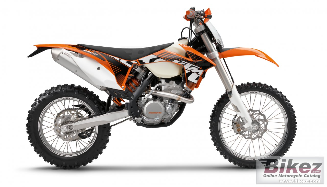 Big KTM 350 exc-f picture and wallpaper from Bikez.com
