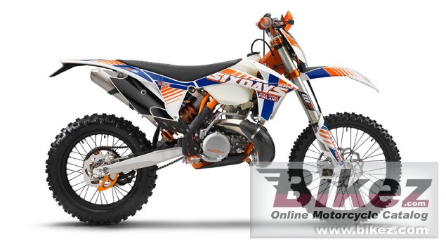 Big KTM 125 exc six days picture and wallpaper from Bikez.com