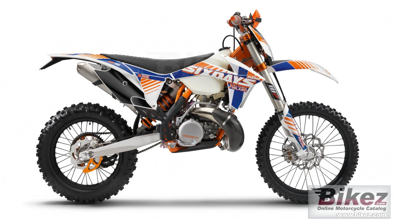 Big KTM 250 exc six days picture and wallpaper from Bikez.com