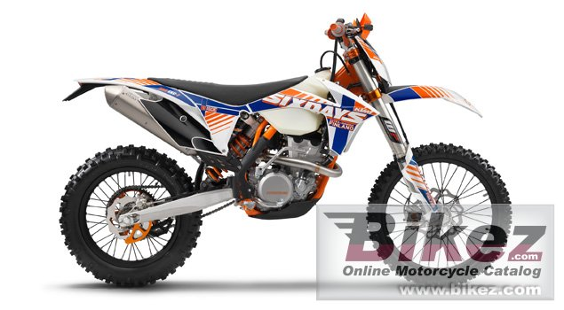 Big KTM 500 exc six days picture and wallpaper from Bikez.com