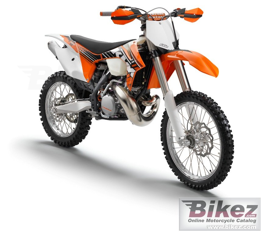 Big KTM 300 xc picture and wallpaper from Bikez.com