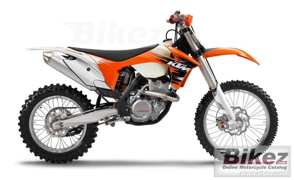 Big KTM 350 xc-f picture and wallpaper from Bikez.com