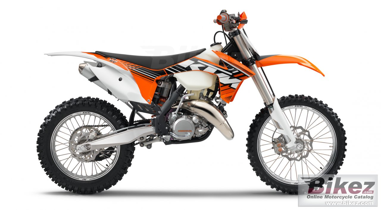 Big KTM 150 xc picture and wallpaper from Bikez.com