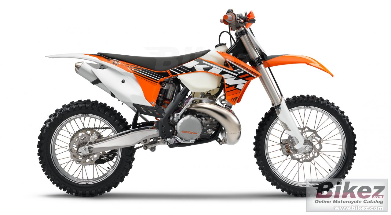 Big KTM 250 xc picture and wallpaper from Bikez.com