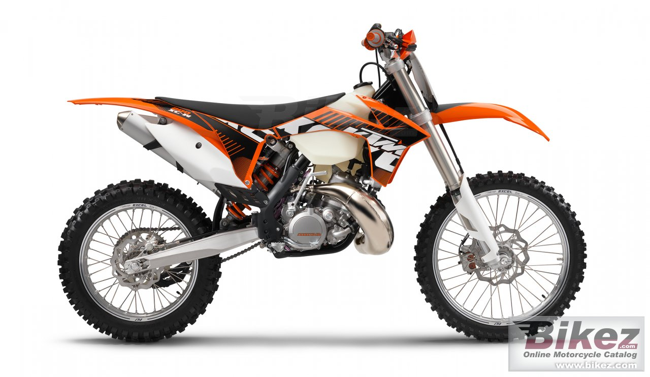 Big KTM 200 xc-w picture and wallpaper from Bikez.com