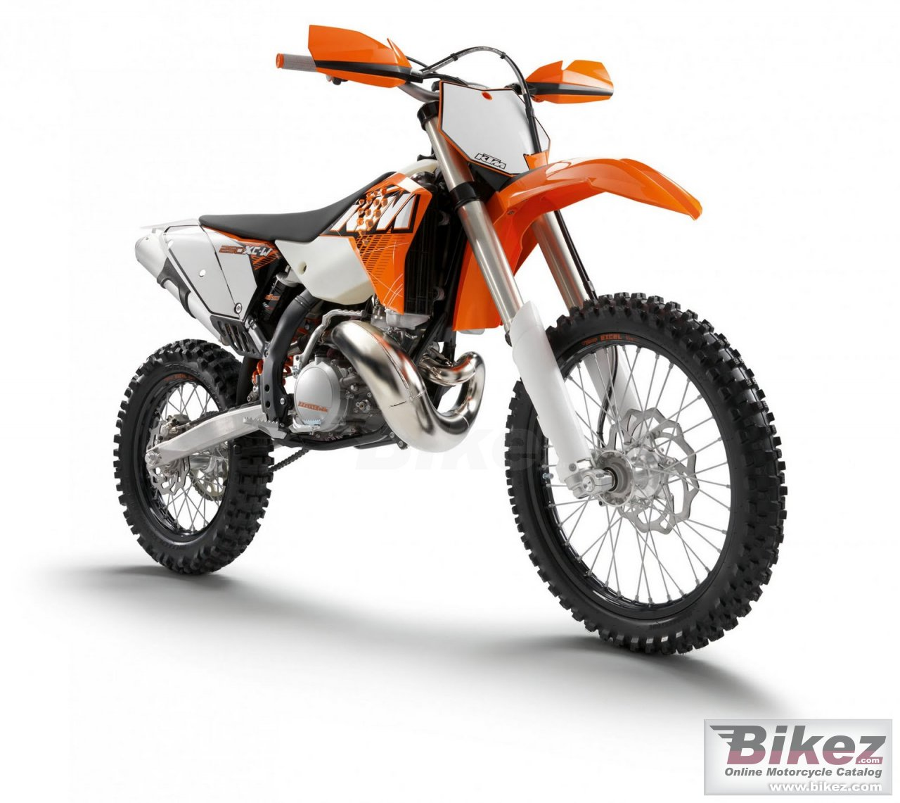 Big KTM 250 xc-w picture and wallpaper from Bikez.com