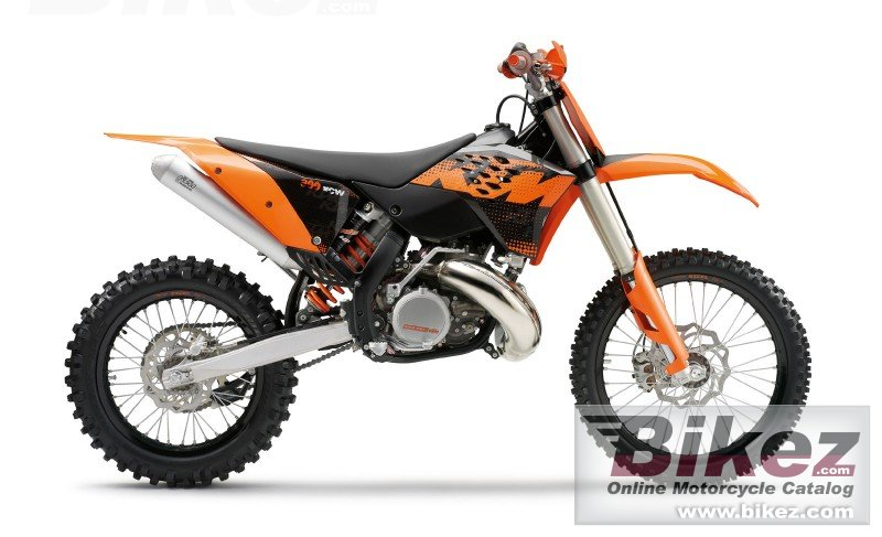 Big KTM 300 xc-w picture and wallpaper from Bikez.com