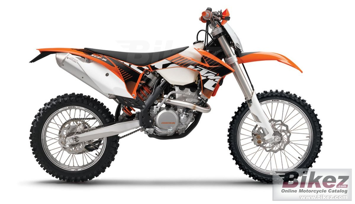 Big KTM 350 xcf-w picture and wallpaper from Bikez.com
