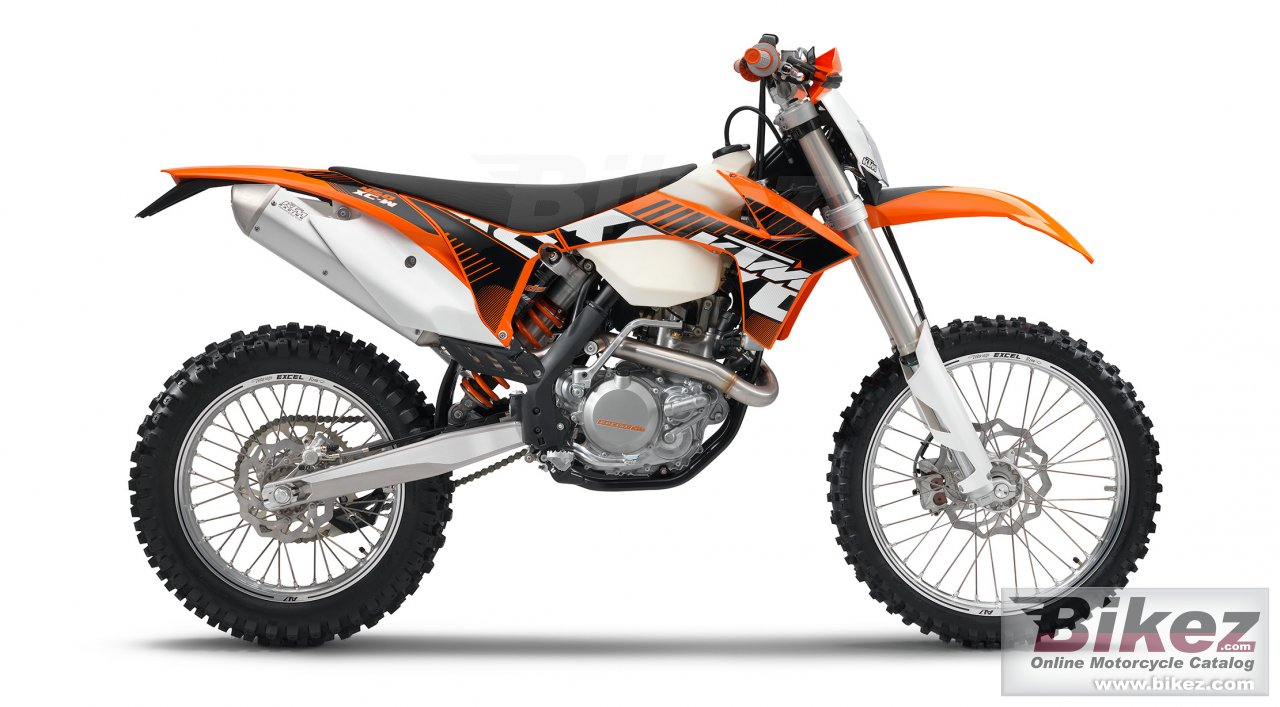 Big KTM 450 xc-w picture and wallpaper from Bikez.com