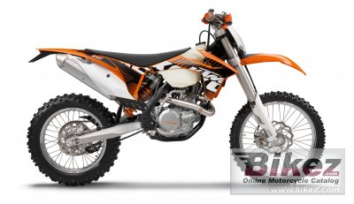 2012 KTM 500 EXC specifications and pictures