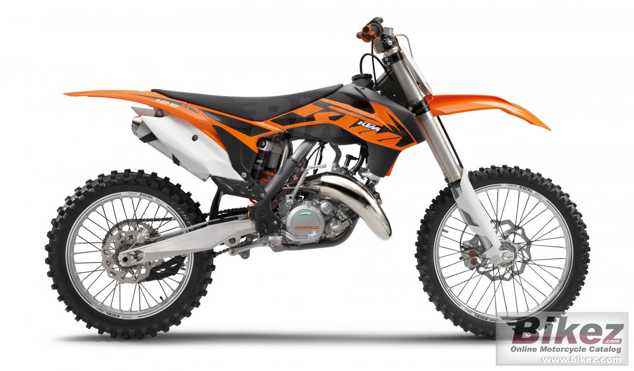 Big KTM 125 sx picture and wallpaper from Bikez.com
