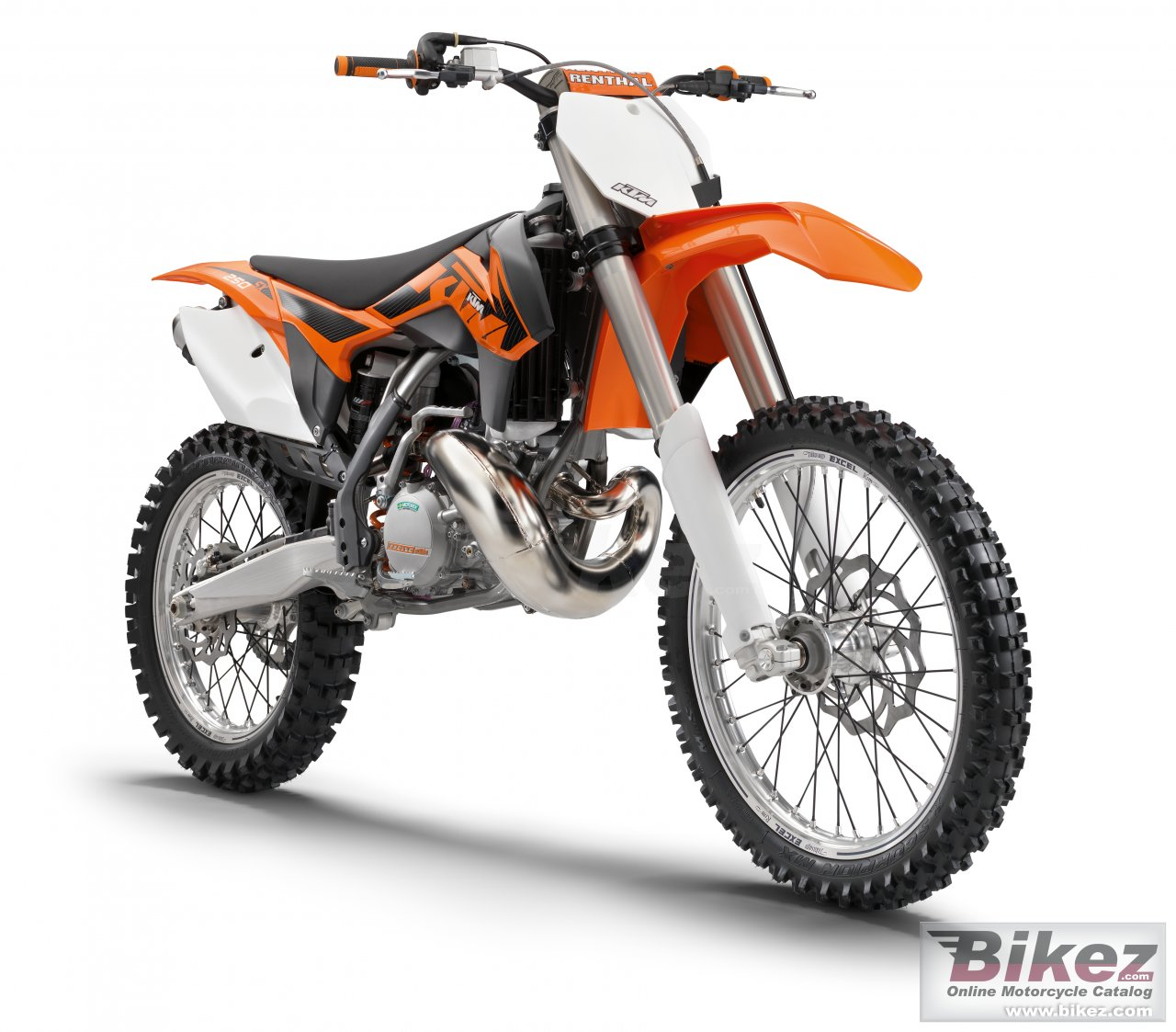 Big KTM 250 sx picture and wallpaper from Bikez.com