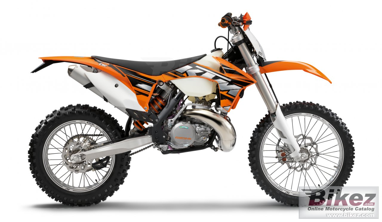 Big KTM 250 exc picture and wallpaper from Bikez.com