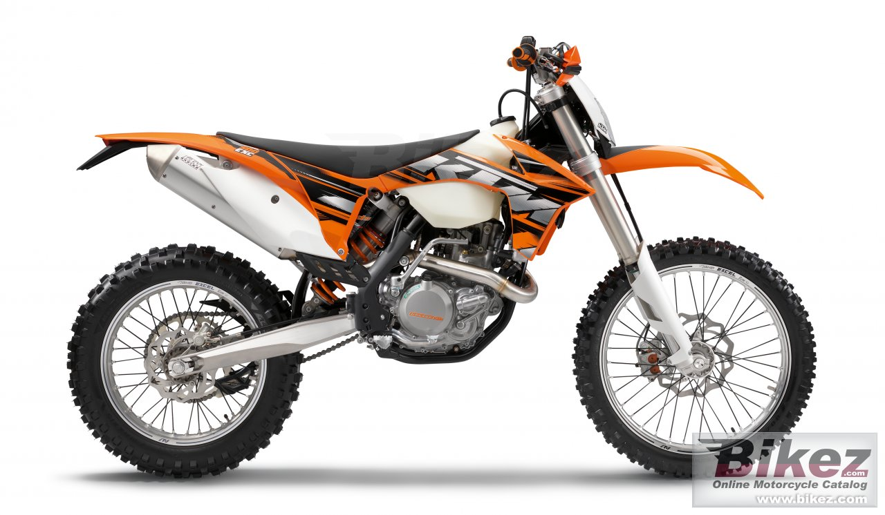 Big KTM 500 exc picture and wallpaper from Bikez.com