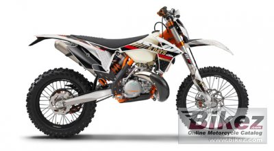 2013 KTM 125 EXC Six days photo