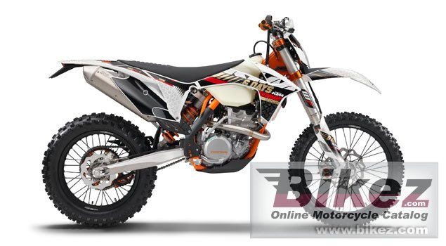 Big KTM 450 exc six days picture and wallpaper from Bikez.com