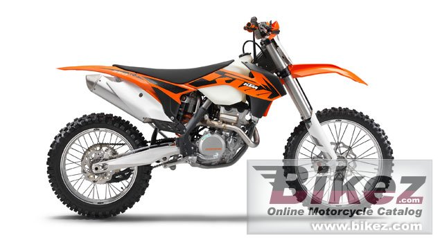 Big KTM 250 xc-f picture and wallpaper from Bikez.com