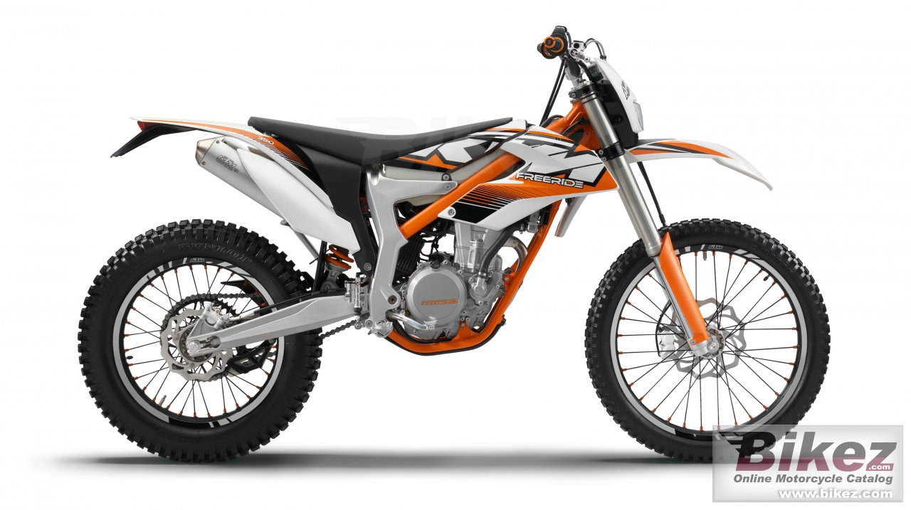 Big KTM freeride 350 picture and wallpaper from Bikez.com