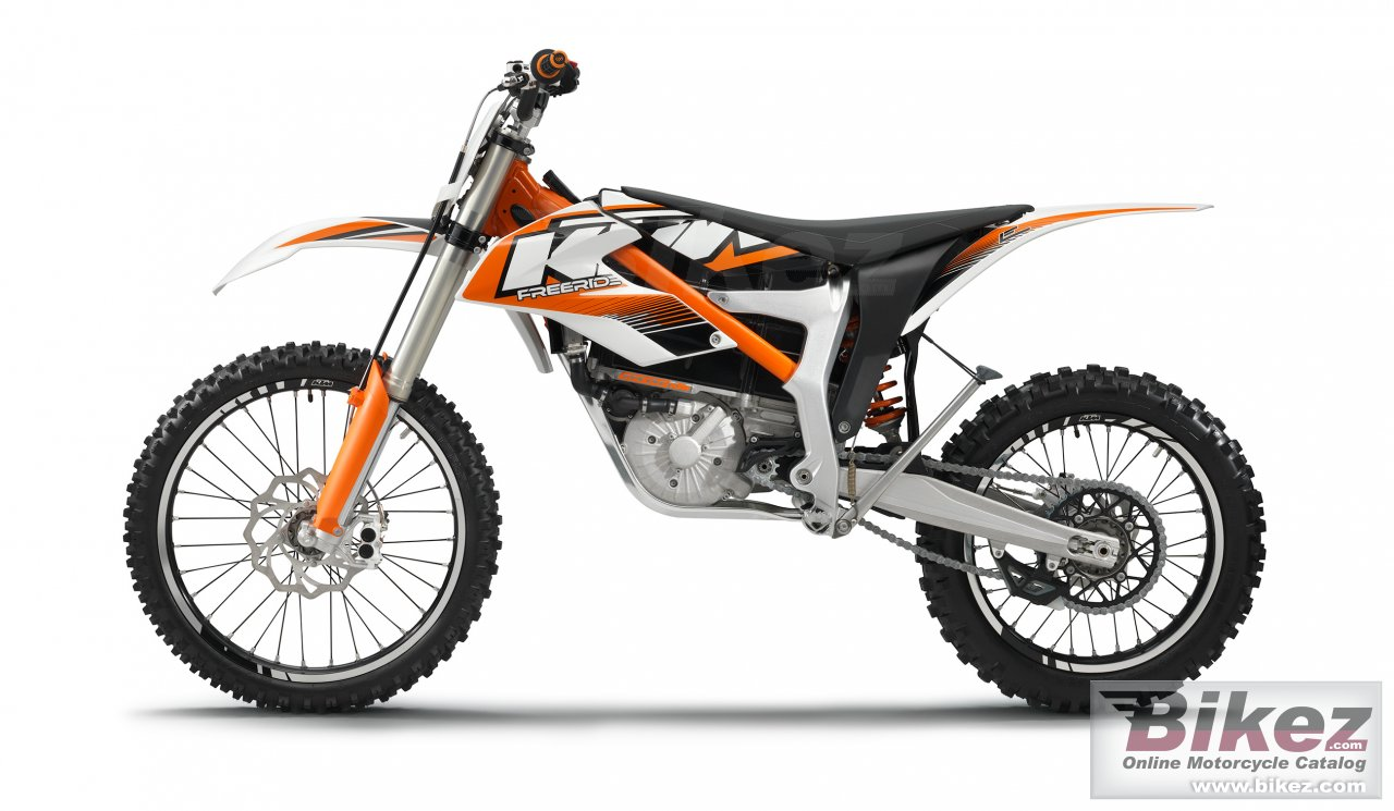 Big KTM freeride e picture and wallpaper from Bikez.com