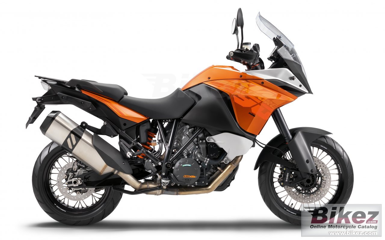Big KTM 1190 adventure picture and wallpaper from Bikez.com