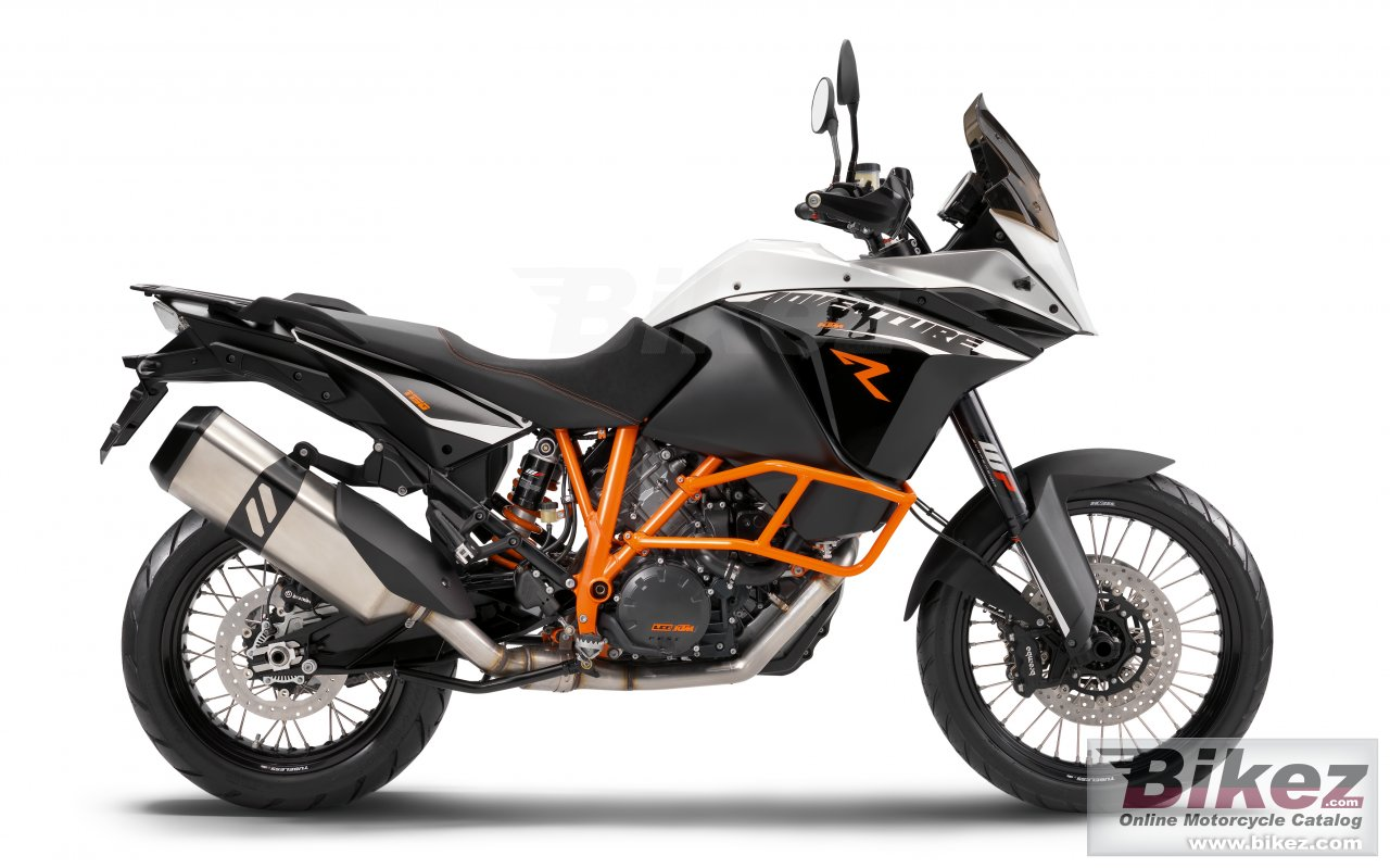Big KTM 1190 adventure r picture and wallpaper from Bikez.com