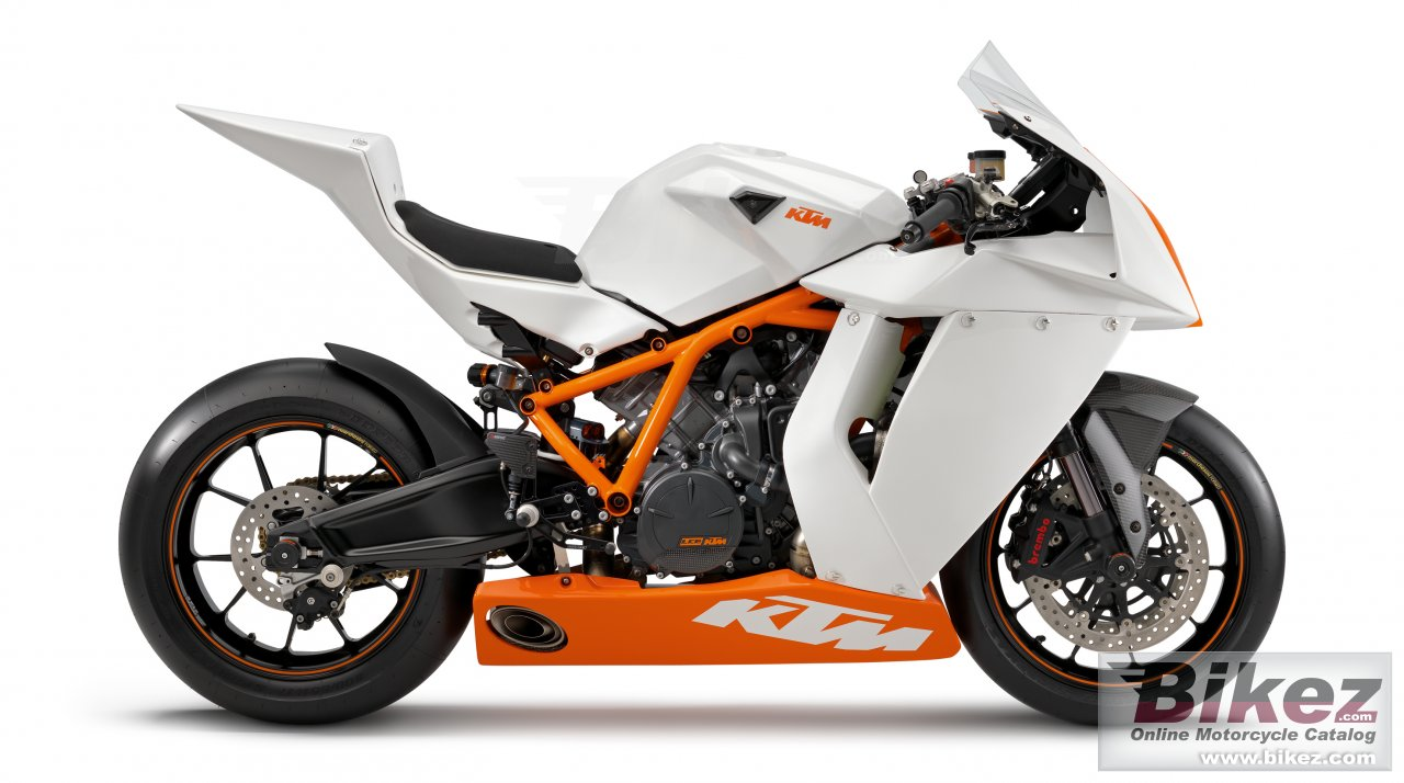 Big KTM 1190 rc8 r track picture and wallpaper from Bikez.com